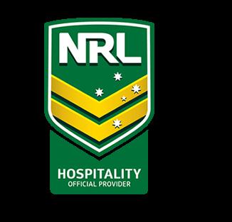 NRL Official Hospitality Logo