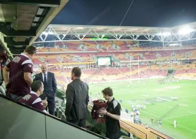 Corporate Box for State of Origin Brisbane