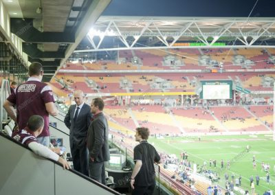 Corporate Box for State of Origin Suncorp