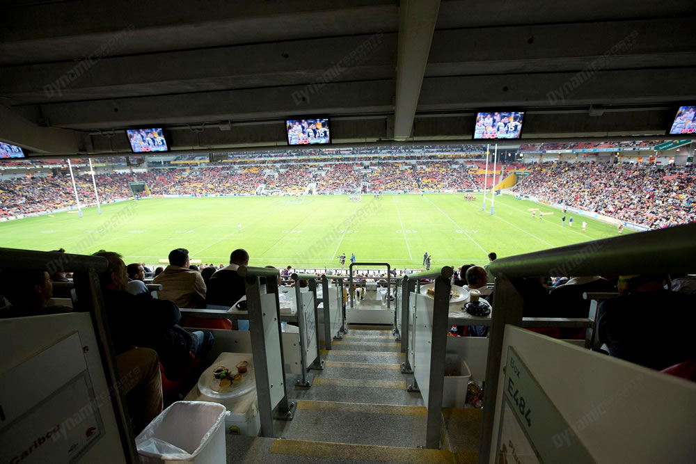 Suncorp - Corporate Box - 8 Seater  - HW to 20