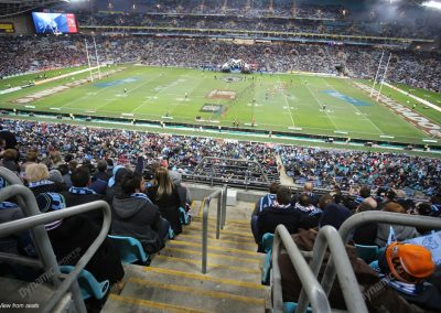 Immortals Dining ANZ Stadium - seat location