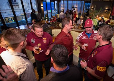 State of Origin Corporate Tour - Pre Function Drinks Billy
