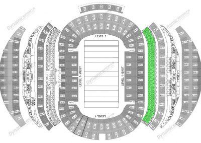 ANZ Stadium 20 seater Suite Map