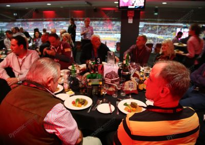 State of Origin Corporate Table - Skyline Lounge