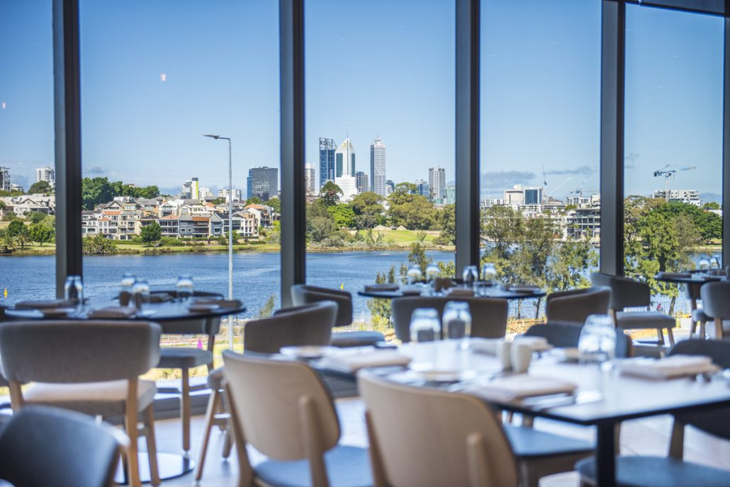 Optus Stadium - City View Cafe