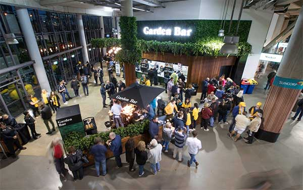 Suncorp - Garden Bar Onsite